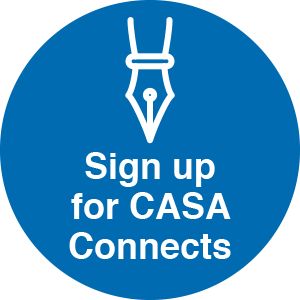 Sign up for CASA Connects